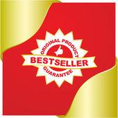 BESTSELLER. Vector sale banner — Stock Vector