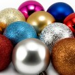Стоковое фото: Christmas-tree decorations 2