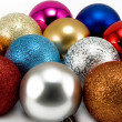 Stock Photo: Christmas-tree decorations 2