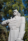 Monument voor de soldaat — Stockfoto