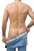 Muž v džínách 2 — Stock fotografie