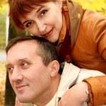 Mature loving couple — Stock Photo