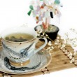 Foto de Stock  : Cup of green tea