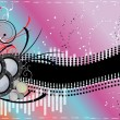 Abstract Music background — Stock Photo