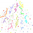 Fireworks confetti for holyday - Stockfoto