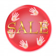 Stock Photo: Sale icon isolated on white background