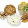 Healthy nutrition and diet — Stock Photo