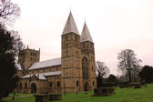 Southwell minster — Stock Photo