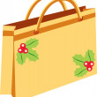 Stock Vector: Bag