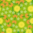 Design floral seamless pattern — Wektor stockowy #1436004