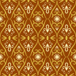 Vettoriale Stock : Swirl color retro seamless pattern