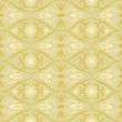 图库矢量图片: Swirl color retro seamless pattern
