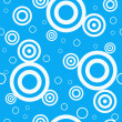 Stockvektor : Design retro blue seamless pattern