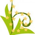 Design flower — Stock Vector