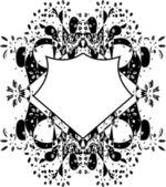 элементы вектора синхронизации цветочный дизайн — Cтоковый вектор