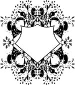 Elementos del diseño floral vector — Vector de stock