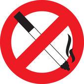 Sembol sigara i̇çilmez — Stok Vektör