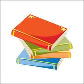 Boeken — Stockvector