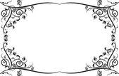 框架设计和边框 — 图库矢量图片