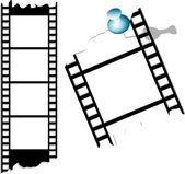 фильм и фото ленты — Cтоковый вектор