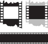 Film and photo tape — Stock Vector
