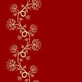 Diseño floral patrón sin costuras — Vector de stock