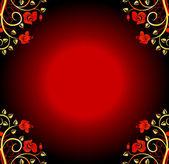 Elegance design floral background — Stock Vector