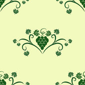 Design floral seamless pattern — Stock Vector