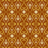 Swirl color retro seamless pattern — 图库矢量图片