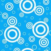 Modello senza cuciture blu retrò di progettazione — Vettoriale Stock