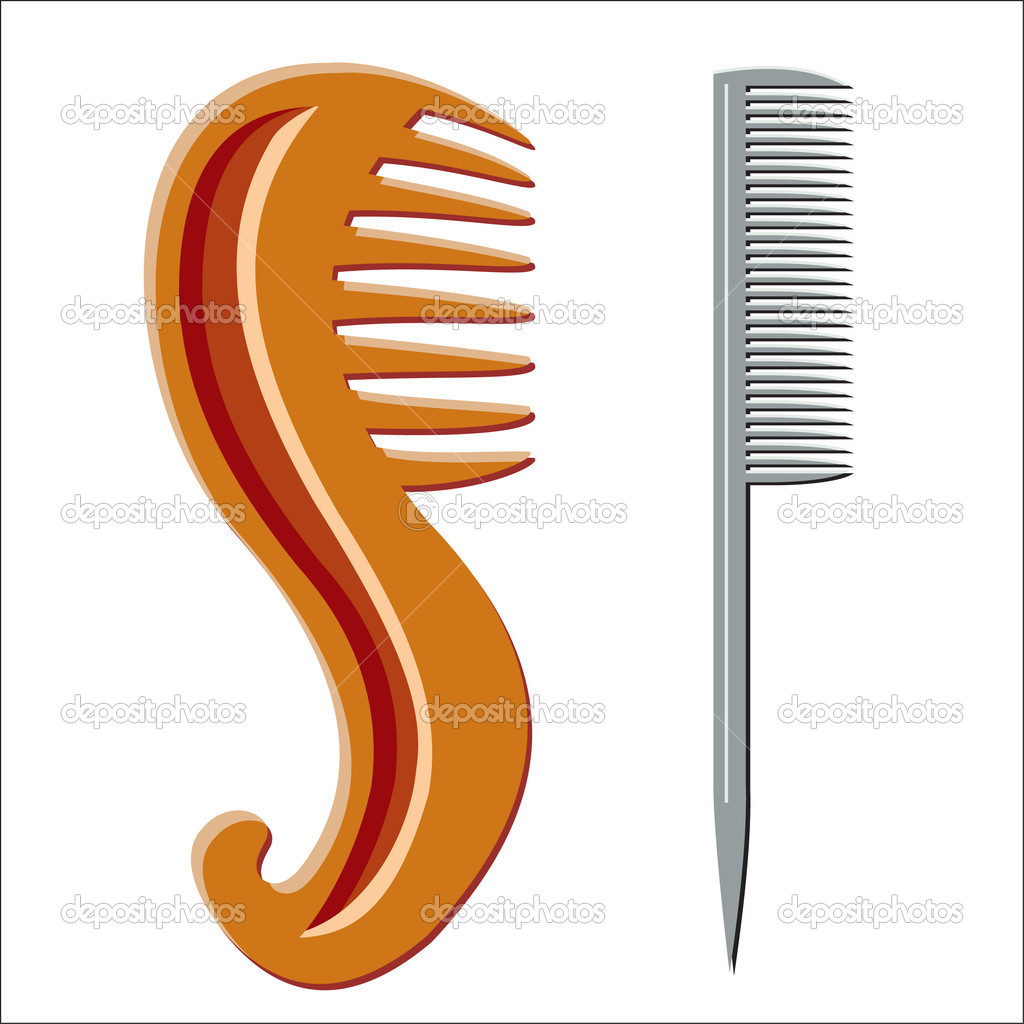 Hairbrush — Stock Vector #1434281