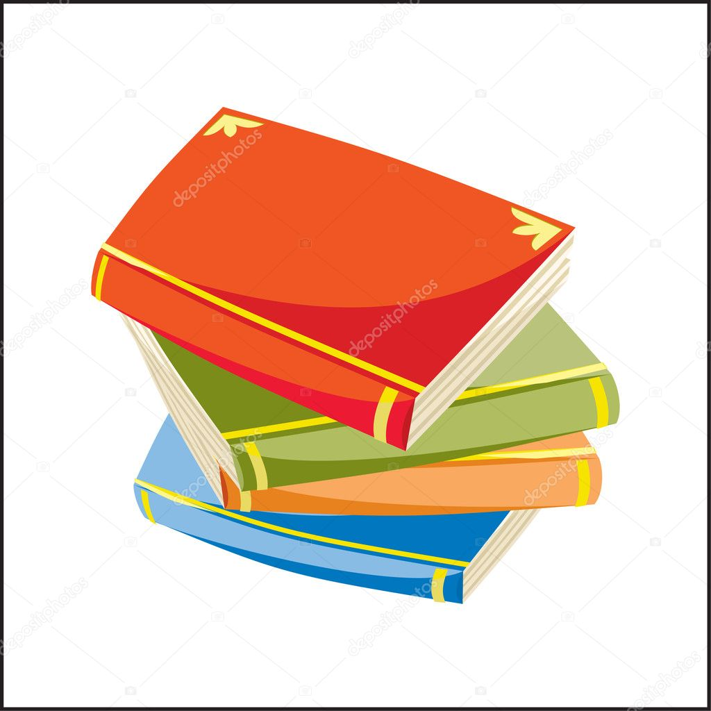Books — Stock Vector #1435567