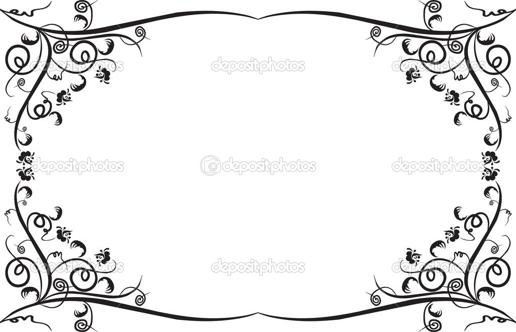 Design frame and borders  Stock Vector #1435818