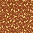 Floral Seamless pattern - Vektorgrafik