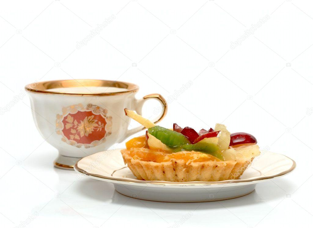 Cake Design Cup Of Tea