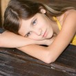 Portrait beauty girl — Stock Photo #2310979