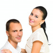 Young Girl and man — Stock Photo