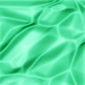зеленая атласная текстуры — Стоковое фото