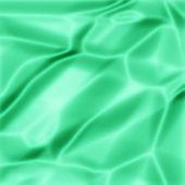 绿色缎面纹理 — 图库照片