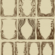 Set of frames — Stockvector #1456367
