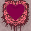 Royalty-Free Stock Vectorielle: Valentine\'s label