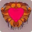 Royalty-Free Stock Vectorafbeeldingen: Valentine\'s label
