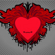 Royalty-Free Stock Imagen vectorial: Valentine label