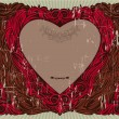 Royalty-Free Stock Vector Image: Valentine\'s vintage frame
