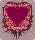 Valentine's label — Stock Vector