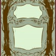 Royalty-Free Stock Vectorafbeeldingen: Art nouveau frame
