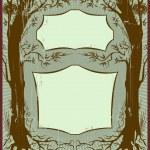 Art nouveau frame — Stock Vector #1460036
