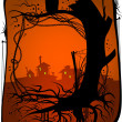 Halloween background - Stockvectorbeeld