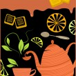 Tea break — Stock Vector