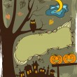 Halloween background — Wektor stockowy #1465401